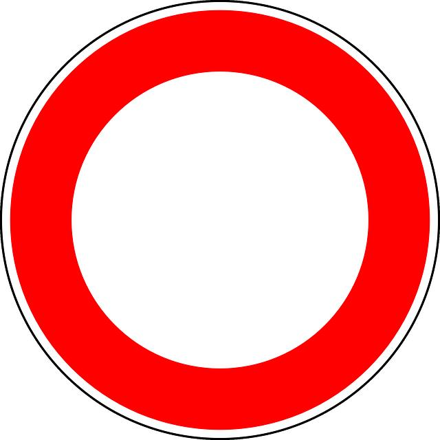 Straßensperrung